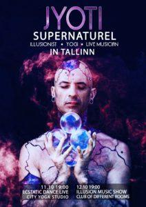 JYOTI SUPERNATUREL в Таллинне с новой шоу программой и презентацией нового альбома. @ Erinevate Tubade Klubi