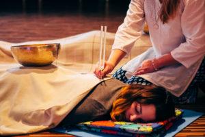 День звукового массажа с Лилией Мяртмаа @ Stessy flowers